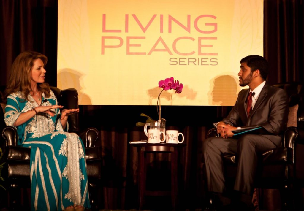 Her Majesty Queen Noor Living Peace Series UC Irvine