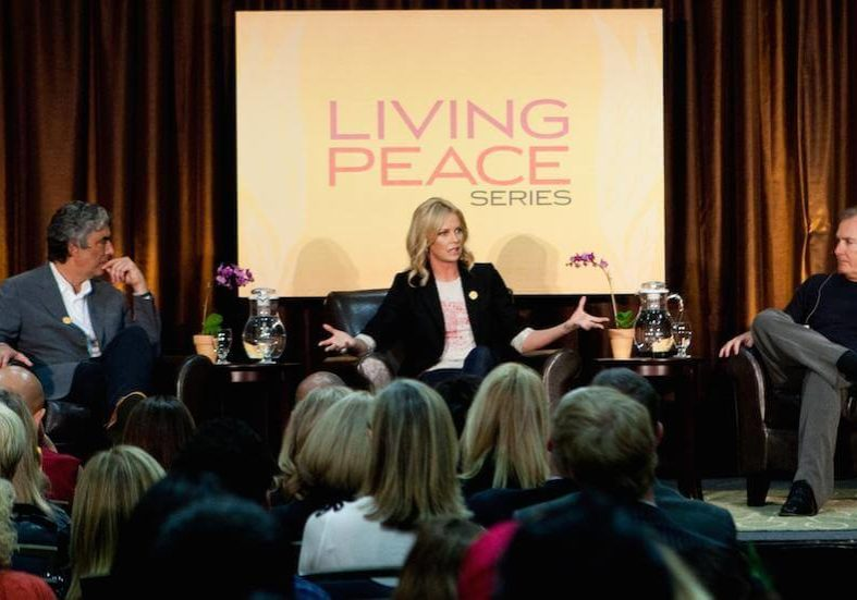 Charlize Theron Living Peace Speaker Series at UC Irvine