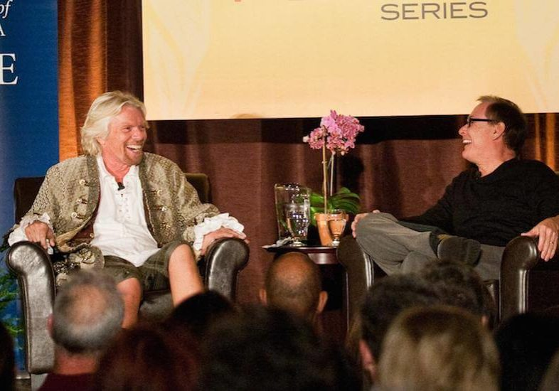 Richard Branson Living Peace Series at UC Irvine
