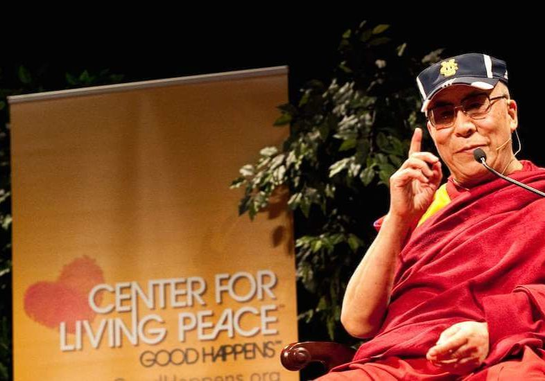 His Holiness the XIV Dalai Lama Living Peace Speaker Series at UC Irvine